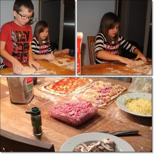 pizzabakning