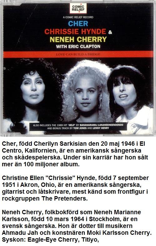 Cher Crissie Neneh