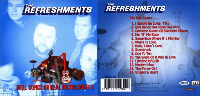 The Refreshments - Real Songs On Real Instruments - Front-horz