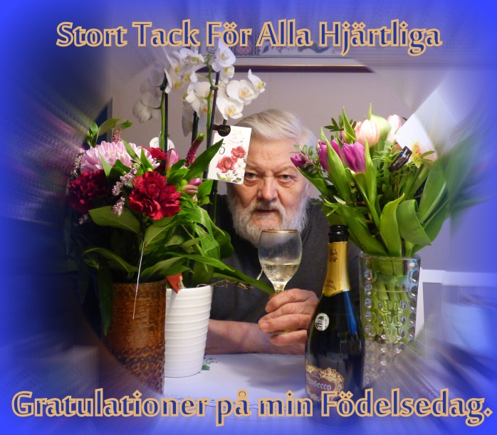 hjärtligt tack för alla gratulationer Ny Slutsiffra idag.. – Farfar Hebbe en yngling på 75 bast hjärtligt tack för alla gratulationer